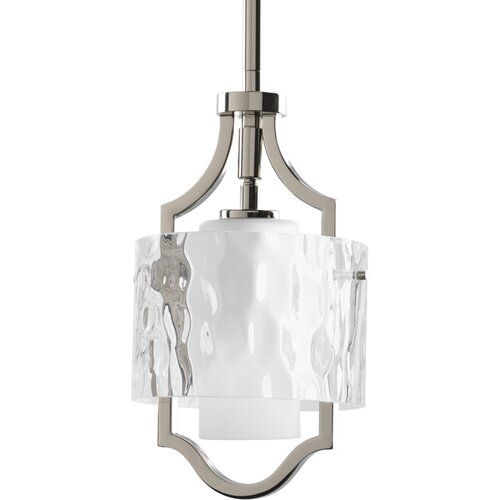 Progress Lighting 1 Light Caress Mini Pendant