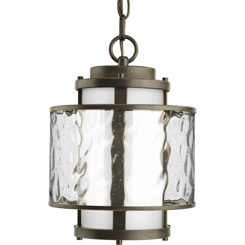 Progress Lighting Bay Court 1 Light Outdoor Hanging Lantern