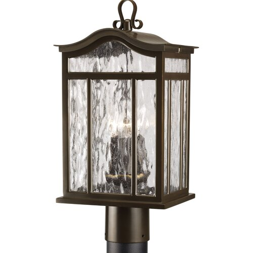 Progress Lighting Meadowlark 3 Light Post Lantern