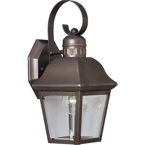 Progress Lighting Andover 1 Light Outdoor Wall Lantern