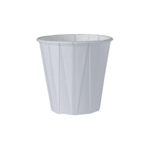 Solo Cups Medical and Dental Treated Paper Cup in White