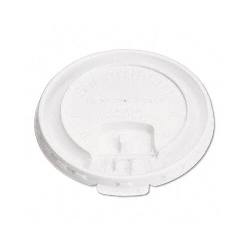 Solo Cups Company Liftback & Lock Tab Cup Lids For Foam Cups, 2000/Carton