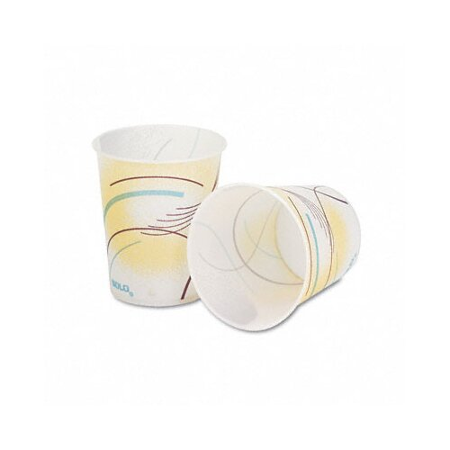 Solo Cups Company Paper Water Cups, 30 Bags of 100/Carton