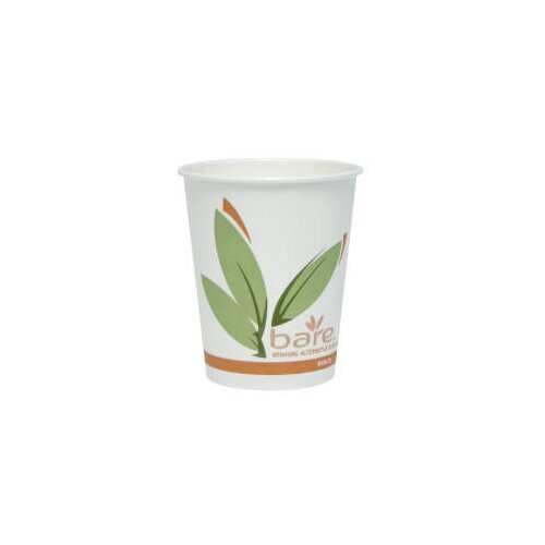 Solo Cups 10 Oz Bare Eco Forward Recycled Content PCF Hot Cups