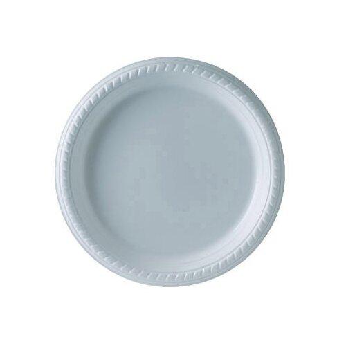 Solo Cups Plastic Plate in White