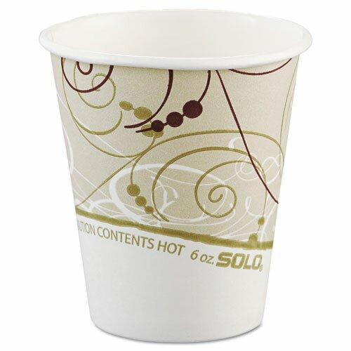 Solo Cups Symphony 6 oz. Paper Hot Cups