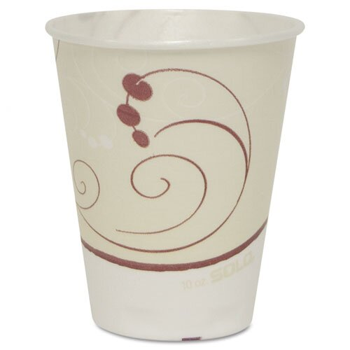 Solo Cups Symphony Trophy Foam 10 oz. Hot/Cold Drink Cups