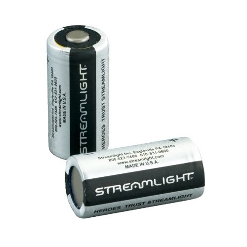 Streamlight Battery 2Pk Lithium Cr123 3V/Scorpion