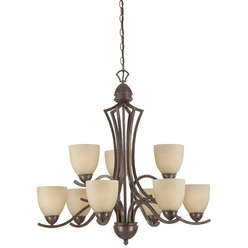 Triton 9 Light Chandelier