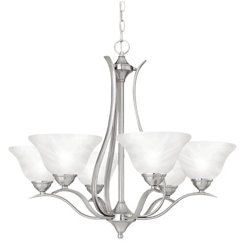 Thomas Lighting Prestige  6 Light Chandelier