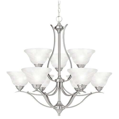 Thomas Lighting Prestige 9 Light Chandelier