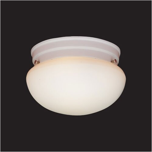 "Thomas Lighting 5.5"" 3 Light Flush Mount"