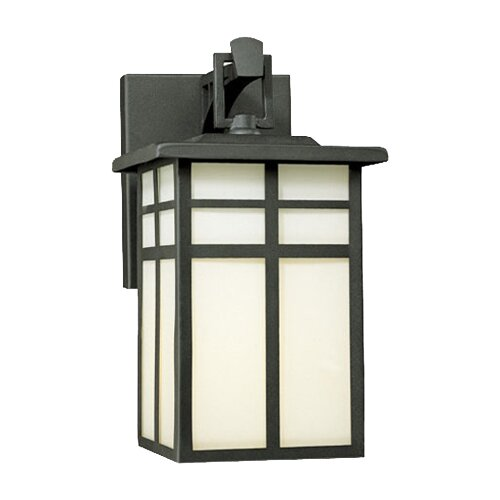 Thomas Lighting Mission 1 Light Outdoor Wide Wall Lantern