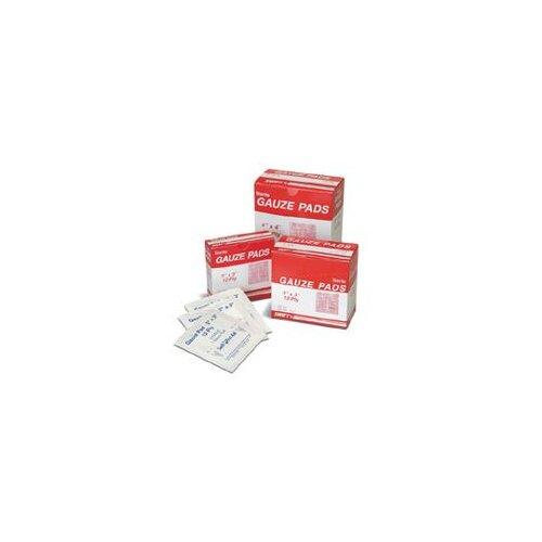 "Swift First Aid 2"" X 2"" Sterile Gauze Pads (10 Per Box)"