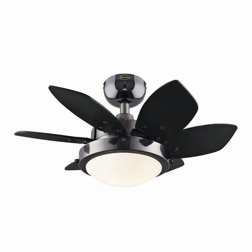 "Westinghouse Lighting 24"" Quince 6 Blade Ceiling Fan"