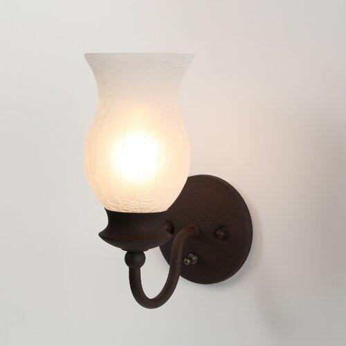 Westinghouse Lighting Laurel Springs 1 Light Wall Sconce ...