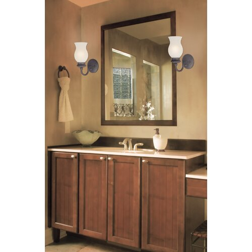 Westinghouse Wall Sconces With Switch : Westinghouse Lighting Laurel Springs 1 Light Wall Sconce with On / Off Switch & Reviews Wayfair