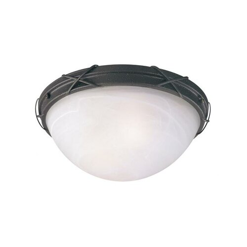 Claremont 2 Light Outdoor Flush Mount