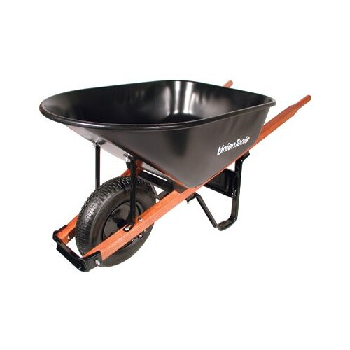 Union Tools Union® Wheelbarrows - 6cu.ft. 1.0mm tray wheelbarrow 99619 99182 99101