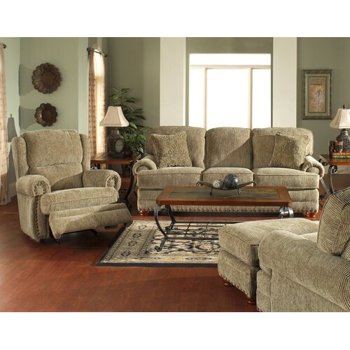 Jackson Furniture Bradford Chenille Wing Rocker Recliner