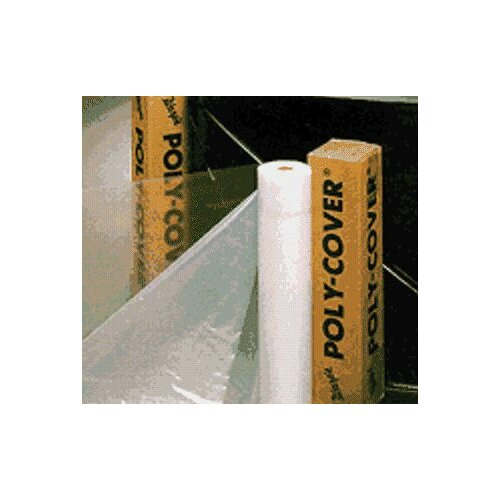 Warp Brothers Poly-Cover Plastic Sheets - 6mil 24x100 clear poly cover plastic she