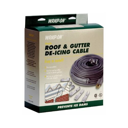 Wrap-On 40' Wrap On Roof and Gutter De-Icing Cables