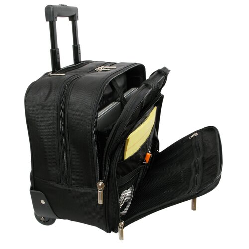 Rolling Business Boarding Tote