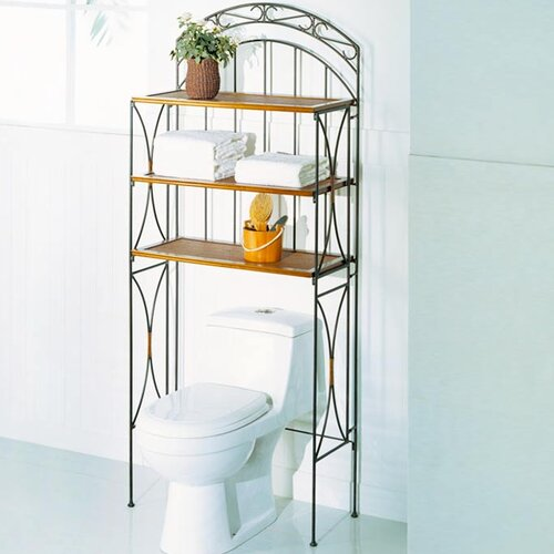 "OIA 28"" x 66.5"" Bathroom Shelf"
