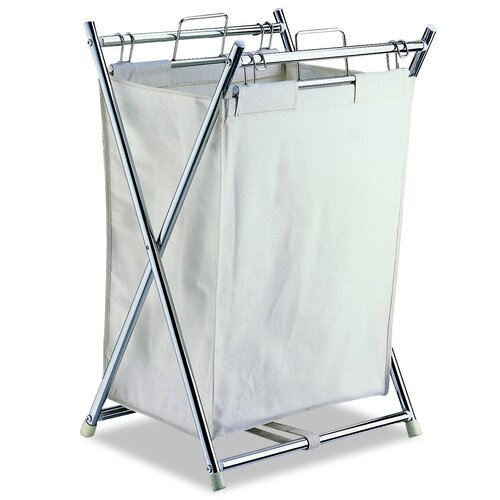 OIA Folding Hamper with Pull-Out Bag
