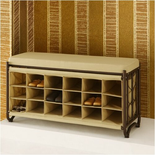 Oia Metal Storage Bench Reviews Wayfair