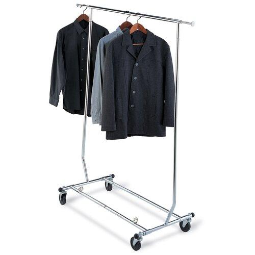 Ultra Garment Rack in Chrome