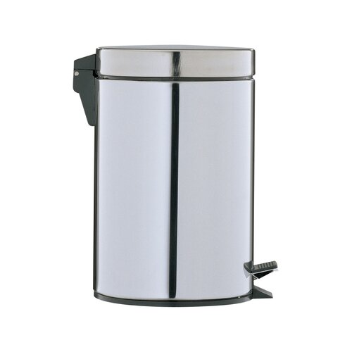 Step-On 0.75-Gal. Round Trash Can