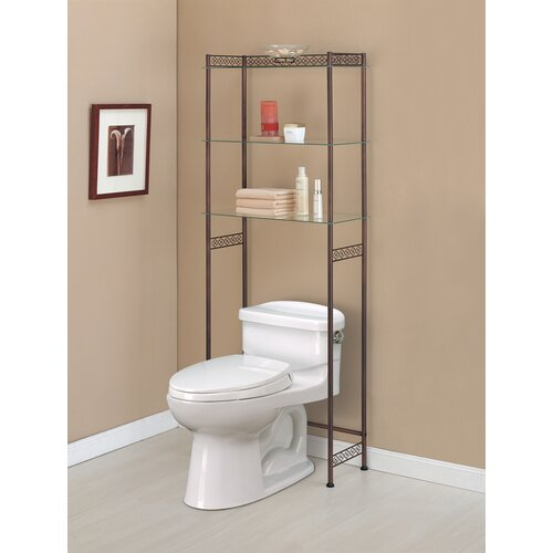 "OIA Morocco 24.75"" x 64.5"" Bathroom Shelf"