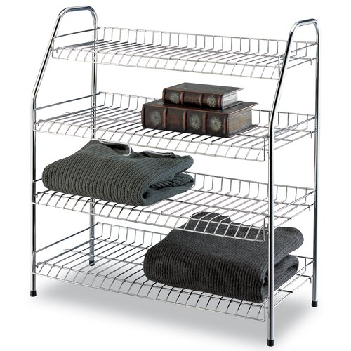 4 Tier Storage Shelf (Set of 3)