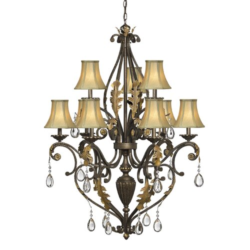 Hinkley Lighting Veranda 9 Light Chandelier