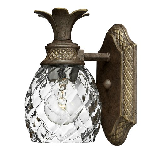 Hinkley Lighting Plantation 1 Light Wall Sconce