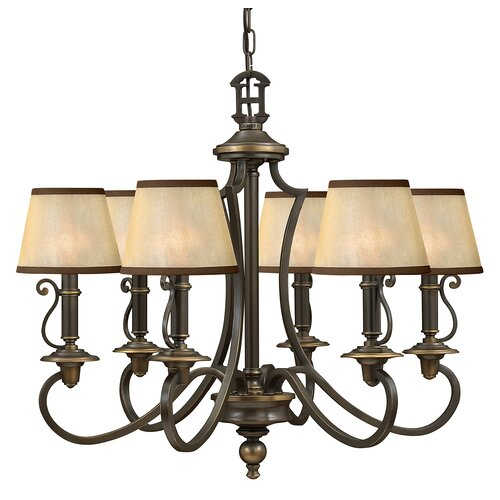 Hinkley Lighting Plymouth 6 Light Chandelier