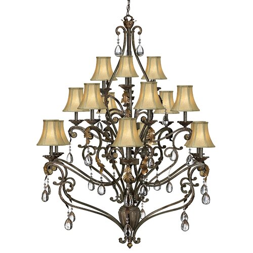 Hinkley Lighting Veranda 15 Light Chandelier