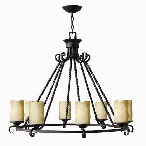Hinkley Lighting Casa 8 Light Chandelier