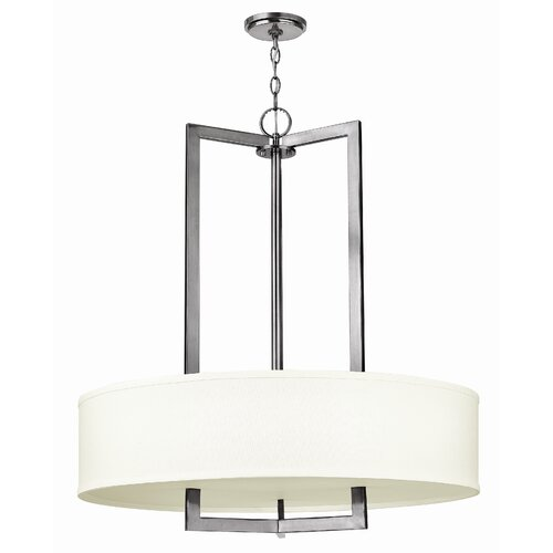 Hampton 3 Light Drum Pendant
