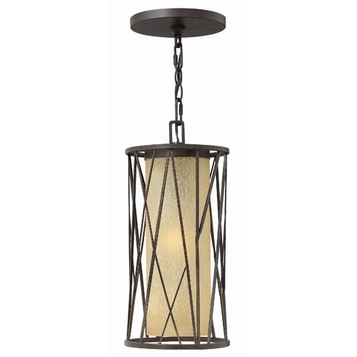 Hinkley Lighting Elm 1 Light Outdoor Hanging Pendant