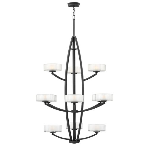 Hinkley Lighting Meridian 12 Light Invert Foyer Pendant