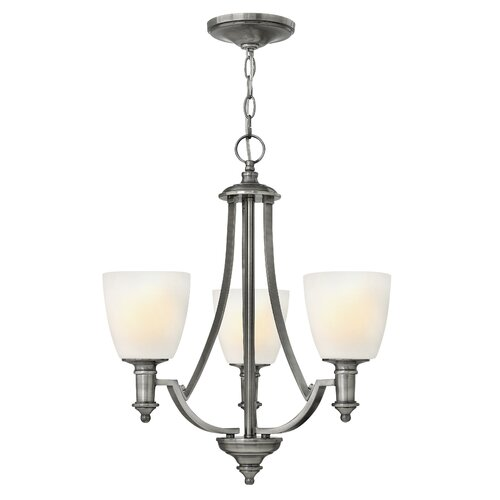 Hinkley Lighting Truman 3 Light Chandelier