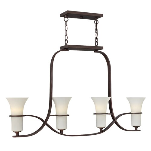 Hinkley Lighting Lauren 4 Light Chandelier