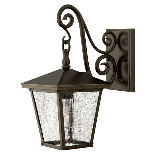 Hinkley Lighting Trellis 1 Light Small Outdoor Wall Lantern