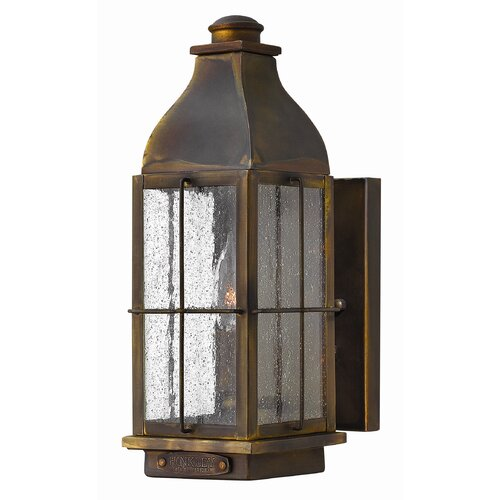 Hinkley Lighting Bingham 1 Light Outdoor Wall Lantern