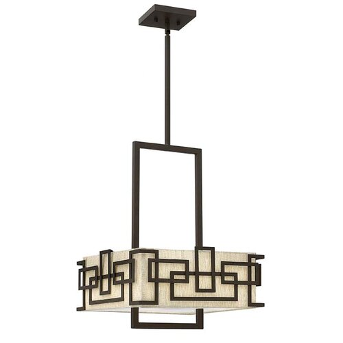 Lanza 3 Light Drum Chandelier