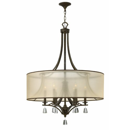 Mime 6 Light Foyer Pendant