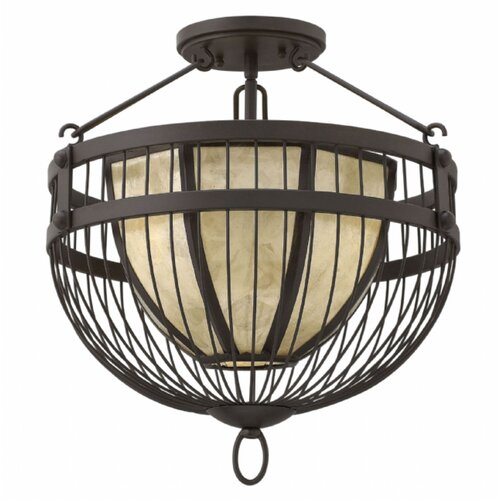 Hinkley Lighting Ava 3 Light Semi Flush Mount