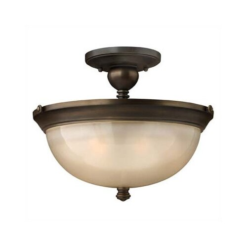 Hinkley Lighting Mayflower 3 Light Semi Flush Mount